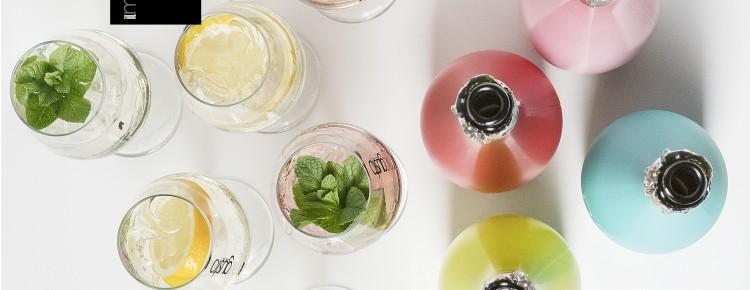 gusto glazen met flessen